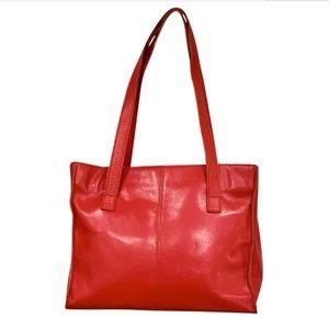 Vintage Classic LL Bean Leather Shoulder Bag